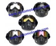 Очила и маска за мотор,комплект 02