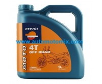 Repsol 10W40 Moto Off Road 4T 4L.
