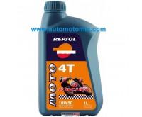 Repsol 10W50 Moto RACING  4T 1L.