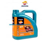 Repsol 10W50 Moto RACING  4T 4L.