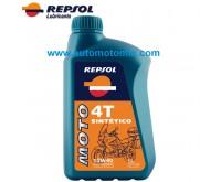 REPSOL Moto SINTÉTICO 4T 10W40 1L.