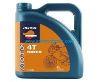 REPSOL Moto RIDER 4T 15W/50 4L.
