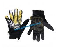 Ръкавици за мотор/ MADbike -жълт