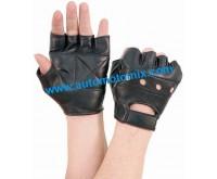Ръкавици естествена кожа без пръсти  L