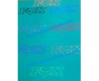 Лепенка/стикер  Fox-02