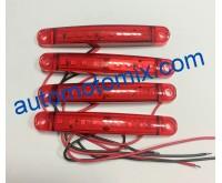 Габарити 9 LED 12/24V- червен