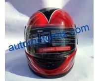 Каска за мотор 211- червена