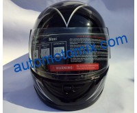 Каска за мотор 211- черна