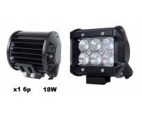 Фар LED правоъгълен- 8038