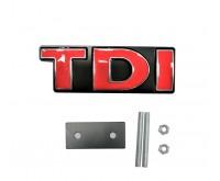 Емблема TDI за предна решетка - 19039
