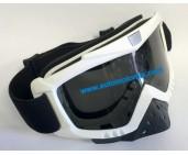 Очила мотокрос-бели-34