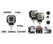 Фар за мотор,АТВ -LED- 20W  (1бр.) -5186